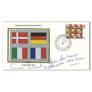 1979 European Elections - Signed by Boothroyd and Short