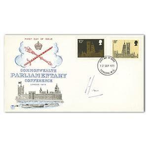 1973 Parliamentary Conference - Signed by Sir Alec D. Home