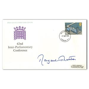 1975 Inter-Parliamentary Conference - Signed Margaret Thatcher