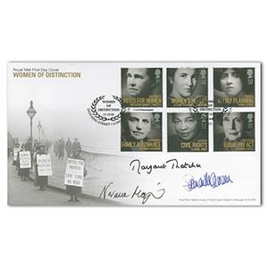 2008 Women of Distinction - Signed by Thatcher, Major and Cameron