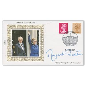 1987 General Election - Signed by Margaret Thatcher