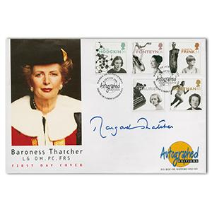 1996 Baroness Thatcher - Signed by Margaret Thatcher