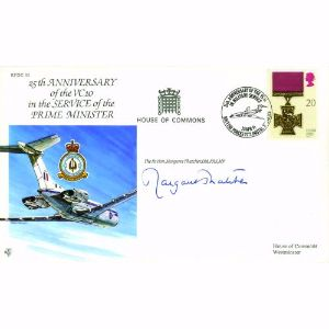 1991 25th Anniversary VC10 in Service - Signed by Thatcher
