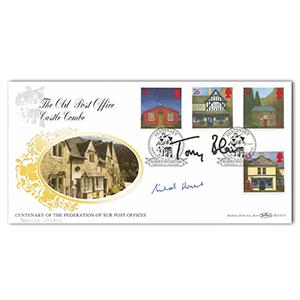 1997 Centenary Federation Sub Post Office - Signed Tony Blair and Michael Howard