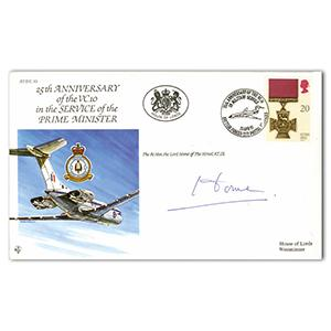1991 25th Anniversary VC10 in Service - Signed by Lord Home
