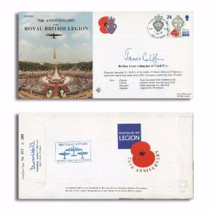 1996 75th Anniversary RBL. Signed by Lord Callaghan of Cardiff.