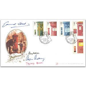 2002 Postboxes. Sig Benn, Chataway, Mason & Glenmara