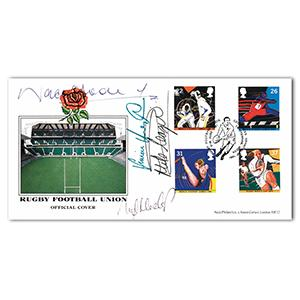 1991 RFU Official - Signed by Nigel Heslop and 3 Others
