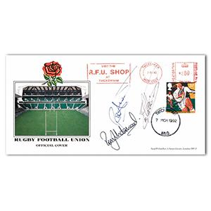 1992 RFU - Signed by Rory & Tony Underwood and Rob Andrews