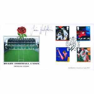 1991 RFU Official - Signed by Simon Hodgkinson
