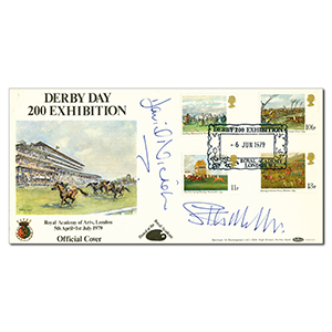 1979 Derby Day 200th Exhibition - Signed by 2