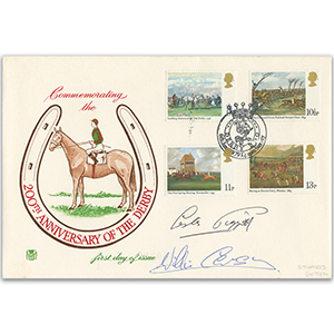 1979 Derby - Signed by Piggott and Carson