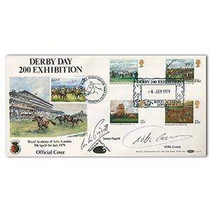 1979 Horseracing B.O.C.S.11 doubled Eire. Signed Piggott and Carson.