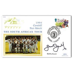 1994 Cornhill Test Match - Signed by Geoff Boycott
