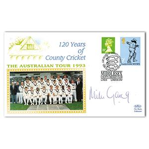 1993 Australian Tour - Signed by Mike Gatting