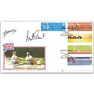 2002 Sport. Signed Matthew Pinsent & James Cracknell
