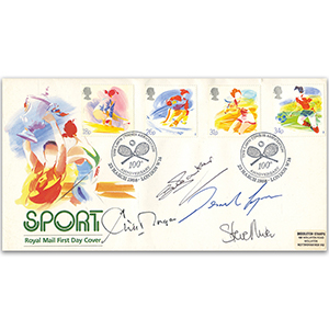 1988 Sport - Signed by Sue Barker, C. Morgan, Des Lynam & S. Rider