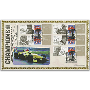 2010 British World Champions - Signed David Coulthard