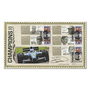 2010 British World Champions - Signed David Coulthard