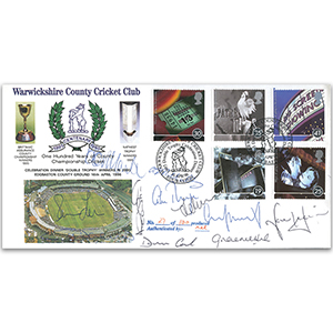 1996 Films - Signed by 11 England Cricket Players