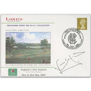 2004 England v New Zealand - Signed by Nasser Hussain