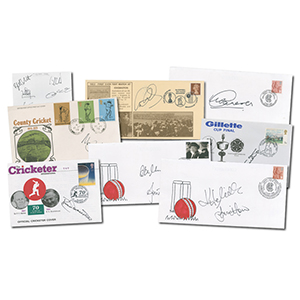 Collection of Cricket Signed Covers