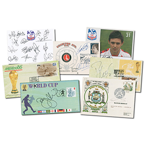 Collection of Football Signed Covers