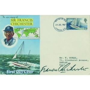 1967 Chichester signed Sir Francis Chichester