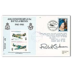 1980 Battle of Britain Anniversary - Signed by Robert Runcie