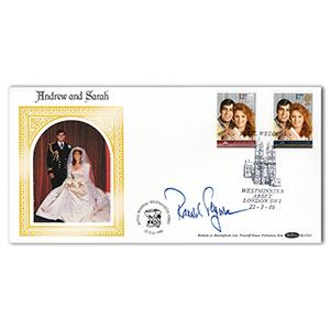 1986 Royal Wedding - Signed by Major Ferguson