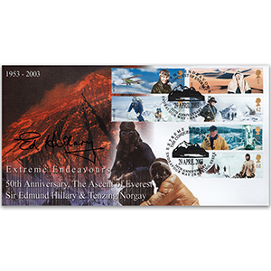 2003 Extreme Endeavours - Signed by Sir Edmund Hillary