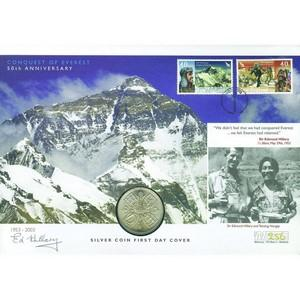 2003 Everest 50th - Signed by Sir Edmund Hillary