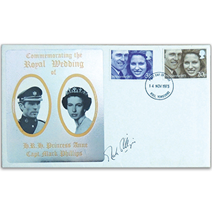 1973 Royal Wedding - Signed Capt Mark Phillips