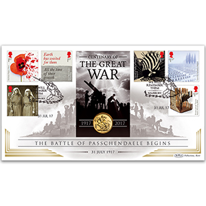 2017 Centenary of the Great War Sovereign Cover