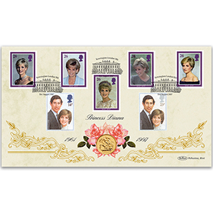Diana, Princess of Wales 20th Anniversary Sovereign Cover