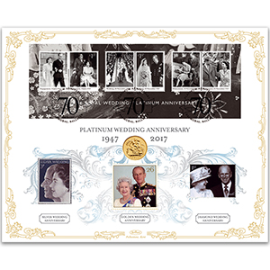 2017 Platinum Wedding Anniversary Sovereign Cover