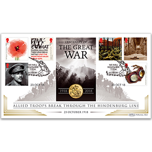 2018 The Great War Sovereign Cover
