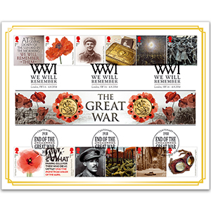 2018 The Great War Double Sovereign Cover