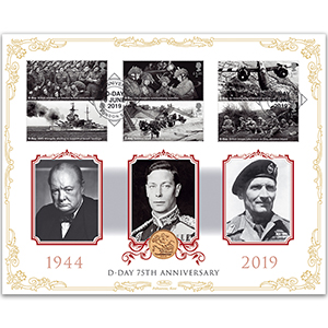 2019 D-Day 75th Anniversary Sovereign Cover