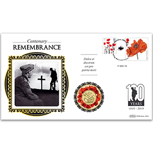 2019 Centenary of Remembrance Sovereign Cover