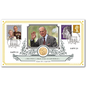 2021 Death of HRH Prince Philip Sovereign Cover
