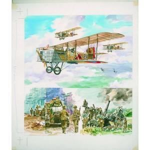 Great War 35 Theobald original artwork