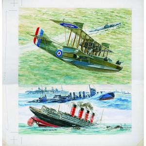 Great War 58 Theobald original artwork