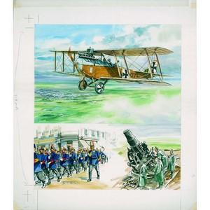 Great War 31 Theobald Original Artwork - Romania 1916-17