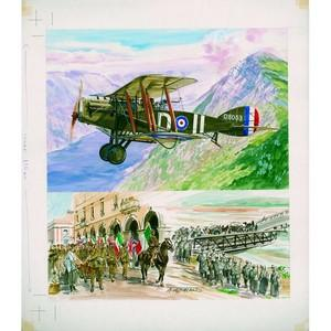 Great War 54 Theobald original artwork