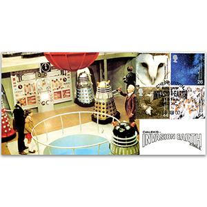 2000 Above & Beyond - Daleks, Invasion Earth - Shepperton Handstamp