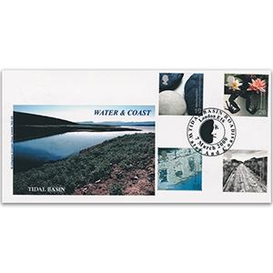 2000 Water & Coast - Kingsland Official, Tidal Basin Road Handstamp