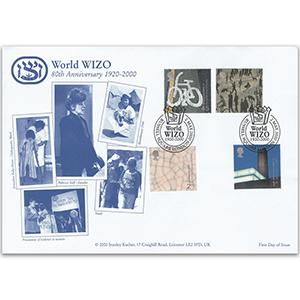 2000 Art & Craft - Stanley Kacher - Russell Square Handstamp