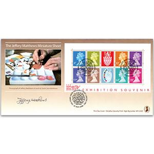 2000 Matthews Pallette M/S - Earls Court London - Signed by Jeffrey Matthews