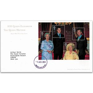 2000 Queen Mother M/S - Windsor Castle CDS